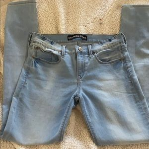Light wash Express jeans size 4R